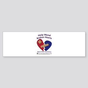Mend Broken Hearts Bumper Sticker
